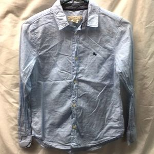 H&M l.o.g.g. Girl button down shirt sz 11-12y
